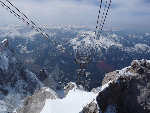 Zugspitze diki bir kün P1010345