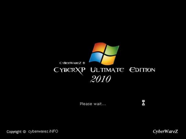 نسخة الاكس بي الخرافية CyberXP Ultimate Edition 2010 بحجم 1.2 جيجا على عدة سيرفرات Sshot-1