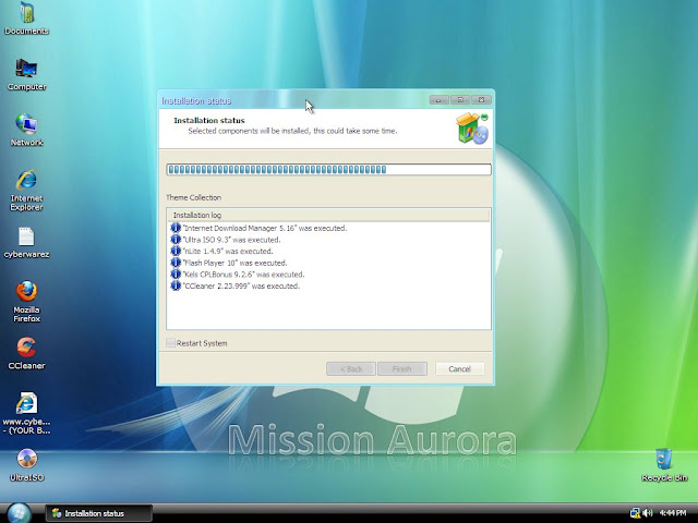 نسخة الاكس بي الخرافية CyberXP Ultimate Edition 2010 بحجم 1.2 جيجا على عدة سيرفرات Sshot-20