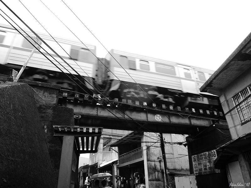菁桐平溪‧黑白拍