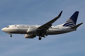 Boeing 737 Copa Airlines