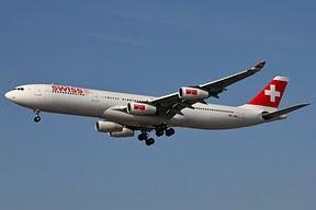 Airbus 340 Swiss