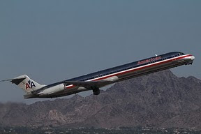 MD83 American Airlines