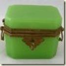 opaline box green