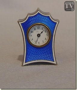 royal blue gullioche clock
