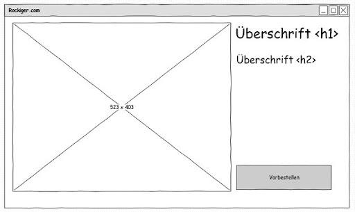 Ubuntu für Webworker: Pencil Wireframe