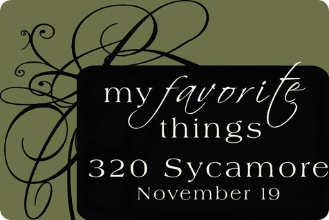 favorite things button
