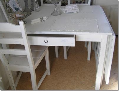 Slagbord 2 lådor låda utdragen