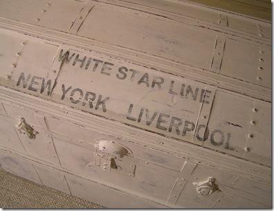 Kista White Star Line närbild