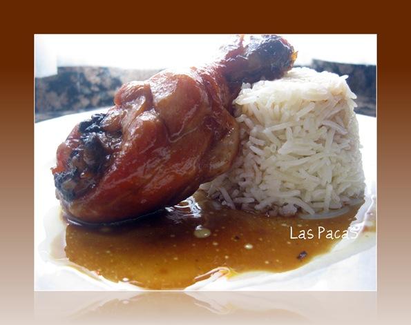 Pollo con Soja