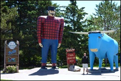 Paul Bunyan, Babe & Korey