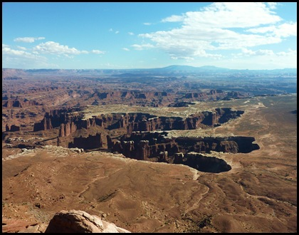 Canyonlands Nat'l Park Grand View Point Overlook