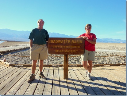 Death Valley Nat'l Park Badwater Basin Kev & Ev