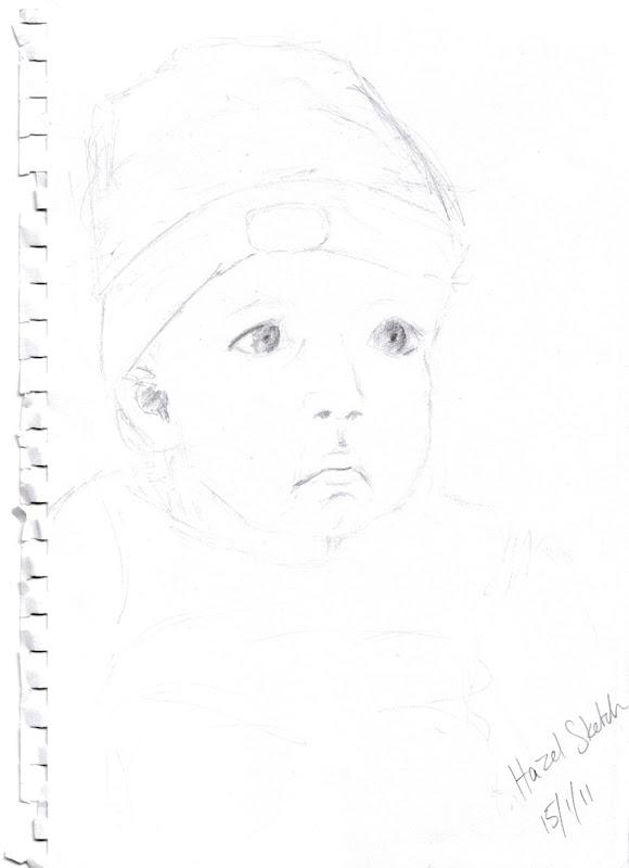 kathleen Hazel sketch