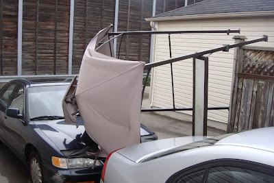 Ảnh: Lều trên mũi xe (1)