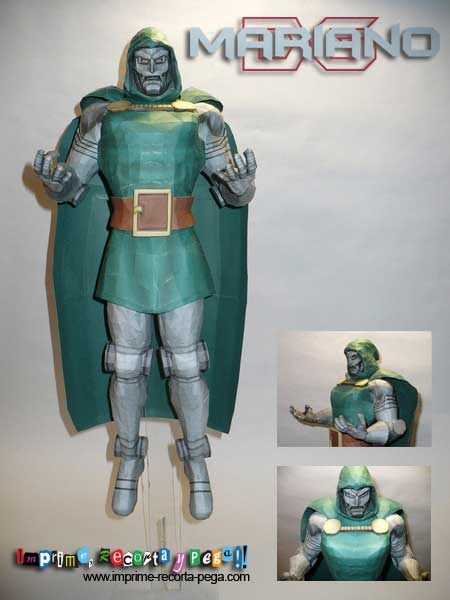 Marvel Comics Papercraft - Dr. Doom