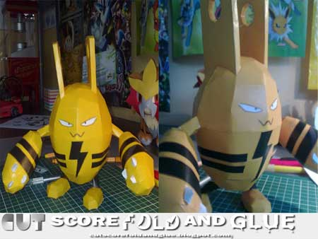 Pokemon Elekid Papercraft