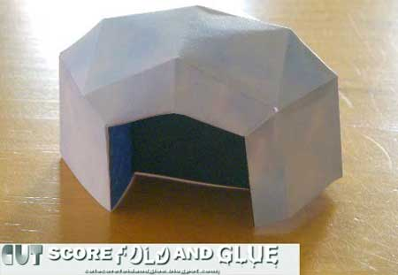 Igloo Papercraft