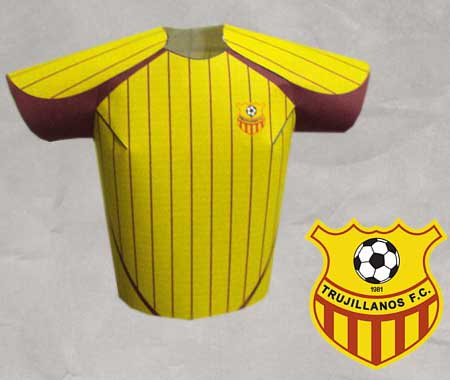 Trujillanos Futbol Club Papercraft