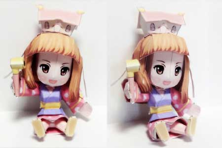 Himeko Papercraft