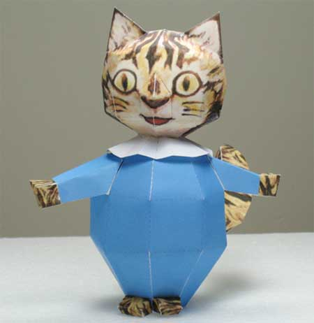 Tom Kitten Papercraft