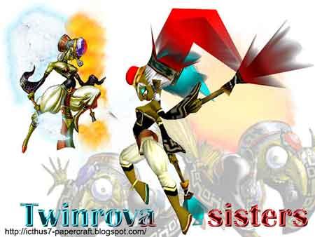 Twinrova Papercraft