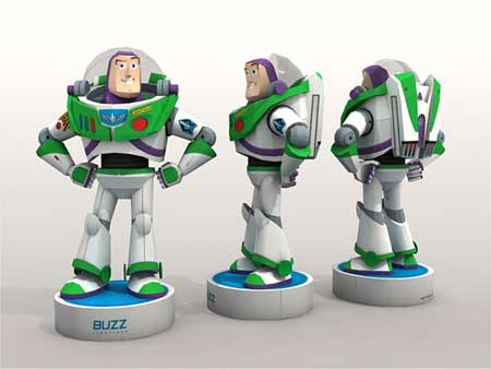 Buzz Lightyear Paper Toy