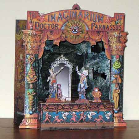 Imaginarium of Doctor Parnassus Papercraft Toy Theatre