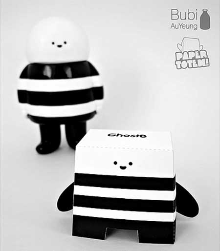 GhostB Paper Toy