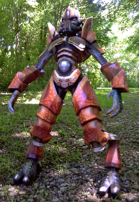 Unreal Tournament Papercraft Damarus