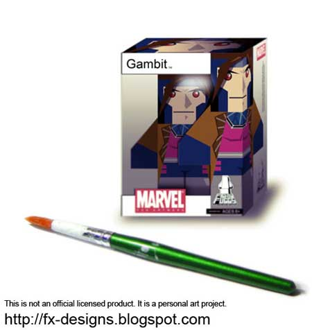 Mighty Muggs Gambit Papercraft