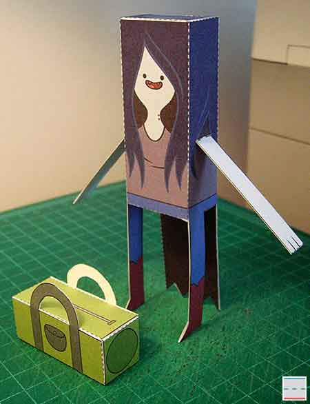 Marceline Vampire Queen Papercraft