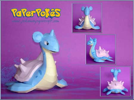 Lapras Papercraft