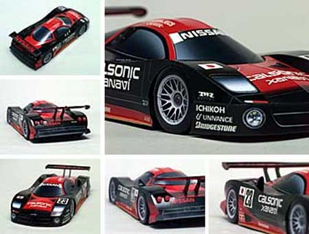 Nissan R390 GT1 Papercraft