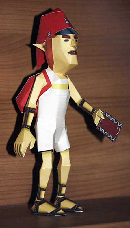 Postman Papercraft