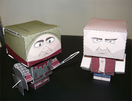 Witcher 2 Torturer Papercraft