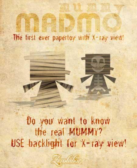 Madmo Mummy Paper Toy