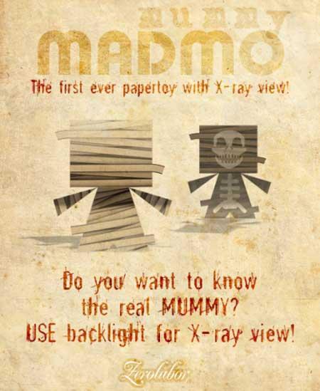Madmo Mummy Paper Toy