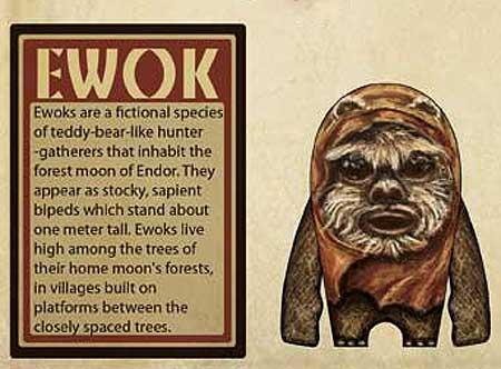 Ewok Papercraft