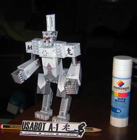 Usabot Papercraft