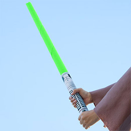 Star Wars Lightsaber Papercraft