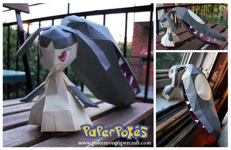 Pokemon Mawile Papercraft