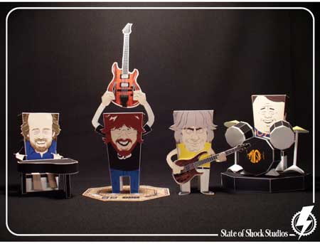 State of Shock Studios Papercraft