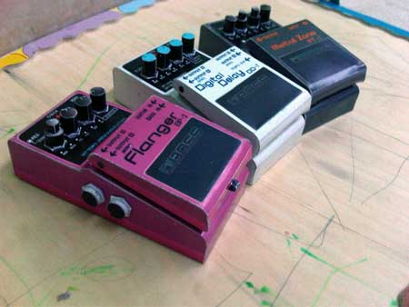 Effects Pedals Papercraft