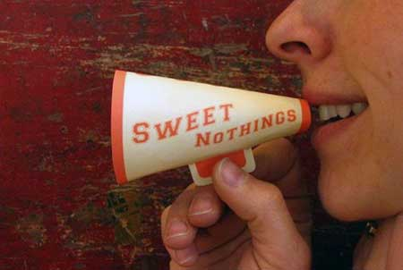 Sweet Nothings Mini Megaphone Papercraft