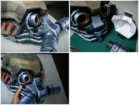 Heavy Mask papercraft