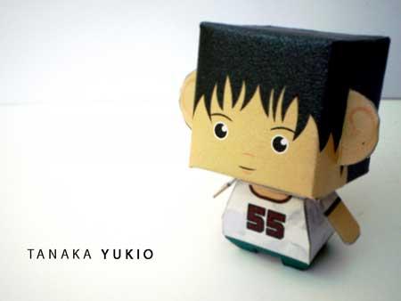 BECK Papercraft Yukio Tanaka