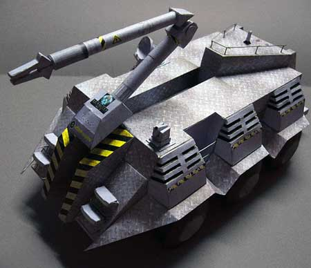 Stargate MALP Papercraft