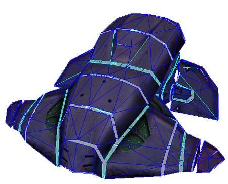 Halo Wraith Papercraft