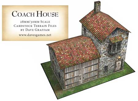 Coach House Papercraft